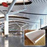Plafond acoustique en aluminium de matériaux de construction
