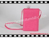 Бумажник ручки перемещения для девушки с карманн телефона и длинней прокладкой