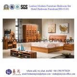 중국 나무로 되는 가구 고급 호텔 침실 세트 (SH-018#)