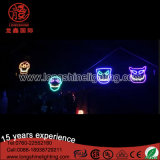 Low Voltage LED Halloween Neon Sign Motif Light in Holiday Décoration pour l'extérieur