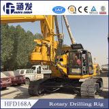 ISO9001のHf168Aの杭打ち機械
