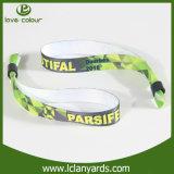 Precio bajo Diseño personalizado de la tela Reflex Fashion Wristband