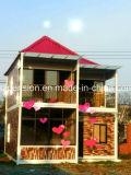 Nuevos chalet del tipo prefabricado móvil de las vacaciones simples eficientes/prefabricado casa/para la gran cantidad