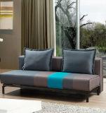 Klassisches liegensofa-Bett mit der konzipierten Farbe, die für Hauptmöbel abgleicht