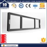 Precio de la ventana de desplazamiento de aluminio anodizada del vidrio Tempered
