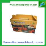 食糧及び飲料のフルーツの包装の習慣の折る荷箱