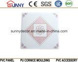 Il soffitto di plastica del PVC del comitato di soffitto della decorazione dell'acquazzone copre di tegoli 595*595*7mm