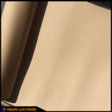Cuero genuino Handfeeling microfibra de cuero para muebles Hx-F1713