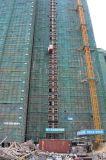 De Lift van het Hijstoestel van de Machines van de bouw met CH-542 en 2 Kooien
