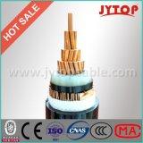 11kv XLPEによって絶縁されるケーブルが付いている銅のコンダクターのための装甲電源コード