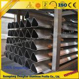 6063 verdrängtes anodisiertes Puder-Beschichtung-Aluminiumgefäß u. Rohr