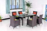 7 PCS PE Rattan Set Dining
