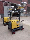 La torretta di illuminazione portatile con 5kw sceglie il motore Rplt-1600 di Cyllinder