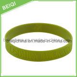 Wristband su ordinazione poco costoso del silicone con il marchio Debossed