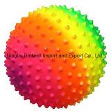 Il Rainbow mette in mostra la sfera di massaggio della sfera per gioco da bambini