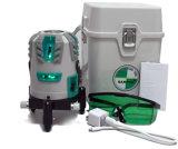 A mão utiliza ferramentas linhas verdes forro do nível Vh515 cinco do laser de Danpon do laser ultra brilhante com banco da potência