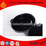 Sunboatのエナメルの楕円形のトルコのロースターによって焼かれる調理器具BBQの台所用品の台所機器
