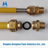 PVC ou PE couvrant le boyau du gaz 304 316L