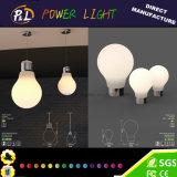 Colore ricaricabile che cambia la lampada di notte del coniglietto del LED