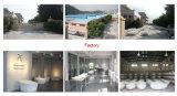 Круглая Freestanding ванна ванны выращиванная в питательной среде: Caststone мраморный