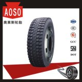 Caminhão do tipo 12r22.5 13r22.5 TBR de Aulice China e pneu sem câmara de ar do barramento