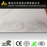 Weiße Kohlenstoff-Faser-Licht-Deckel-Auto-Lampenschirm-Automobil-Dekoration