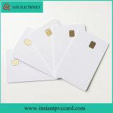 Cr80*30milのサイズインク印刷Sle4442チップPVCカード
