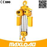 10t escolhem a grua Chain elétrica da velocidade com gancho