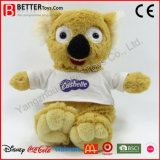 Koala mou de Suffed Aniaml de jouet de peluche de promotion d'ASTM