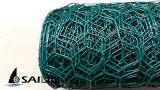 Sailin 직류 전기를 통한 PVC를 가진 6각형 치킨 와이어 그물세공