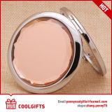 Espelho de dobramento da composição compata de couro relativa à promoção oval do plutônio para o presente