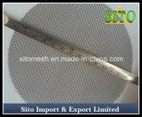 Filter van het Water van het Netwerk van de Schijf van de filter de Roestvrij staal Geweven