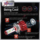 極度の明るいハイ・ロービームH13 H4 LEDヘッドライトの球根
