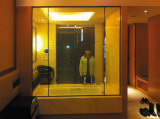Película de cristal elegante de la ventana, película de cristal del edificio cambiable, película laminada de Pdlc, película del LCD