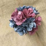 Flor de madera hecha a mano coloreada fragancia casera (SFA47)