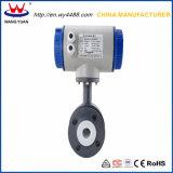 Contador de flujo electromágnetico del agua caliente de la venta de la fábrica de China