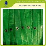 Брезент PE холстины ткани Tarps завальцовки UV упорный, делает сплетенный лист водостотьким HDPE