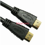30AWG fil 2160p, 3D, 4k, câble de 2.0 HDMI