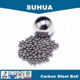 bola de acero de carbón G100 de 6.35m m