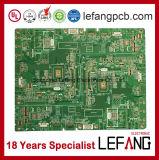 carte de carte à circuit de panneau d'affichage à cristaux liquides de la garantie 94V0