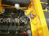 40 pieds de 3axles de squelette de remorque semi