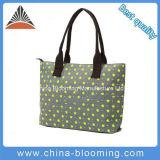 sacchetto promozionale della spiaggia del Tote dell'elemento portante della spalla delle donne della tela di canapa 20oz