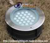IP67 indicatore luminoso di valutazione 24W LED per l'indicatore luminoso sotterraneo esterno del LED