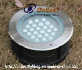 Índice de protección IP67 24W Luz LED para exteriores LED luz subterráneo