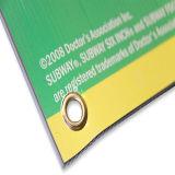 Sinais de Coreflute de rua de plástico resistente a UV, placa de Coreflute profissional