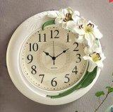 Resina Casa e Jardim Decoração de parede Relógio para lembrança