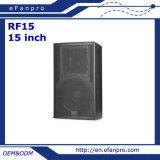 15インチの拡声器のサウンド・システム(RF15 -気転)
