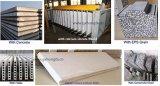 Linha de produção contínua automática do painel de parede do sanduíche do EPS