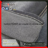 Hot Sales Back Side French Terry Knit Denim Fabric