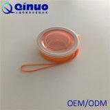 Fácil remover com os copos dobráveis do silicone
